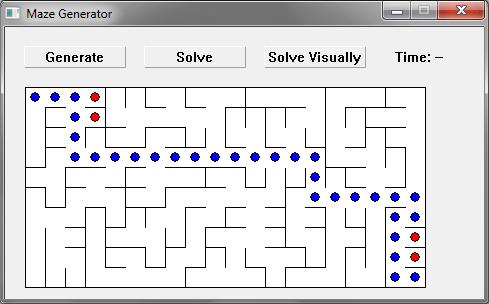 Maze Generator - School - Max's Code